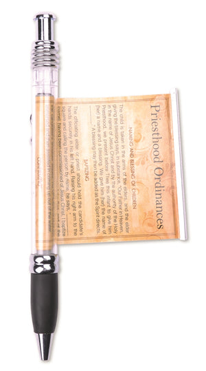 Scroll Pen -- Priesthood Ordinances
