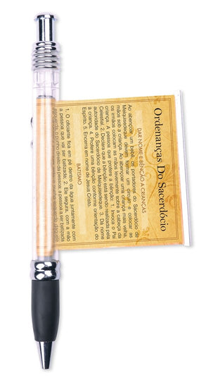 D135, D174 Priesthood Ord Scroll Pen (Portuguese)