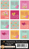B946 Share the Love Stickers