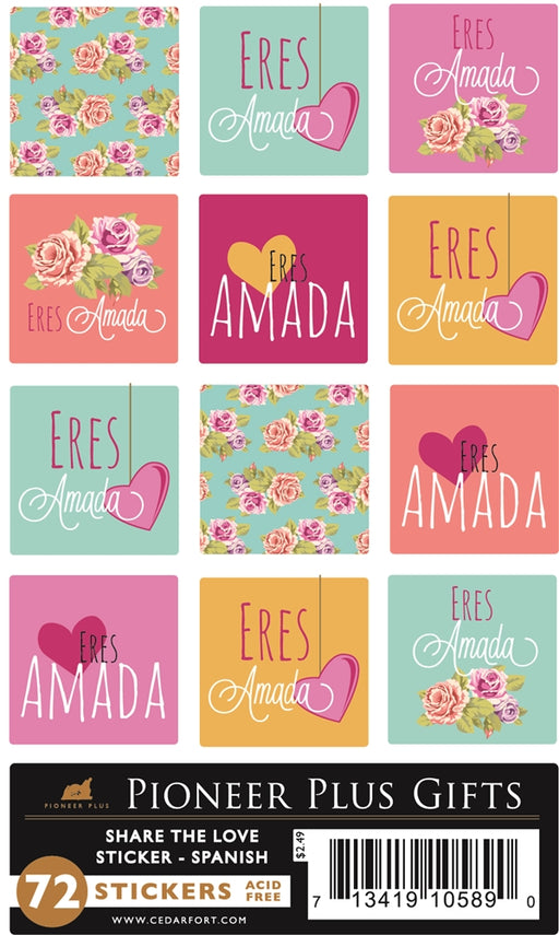 C242 Share the Love Stickers (Spanish)