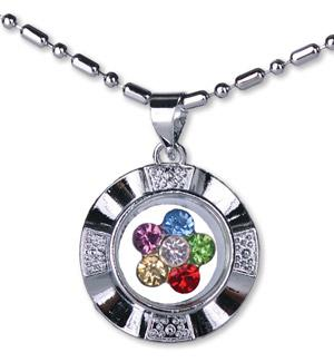 D432, D461 Spinner Necklace/Multi