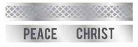 Peace in Christ Tie Bars (2 pack) Tie Tack