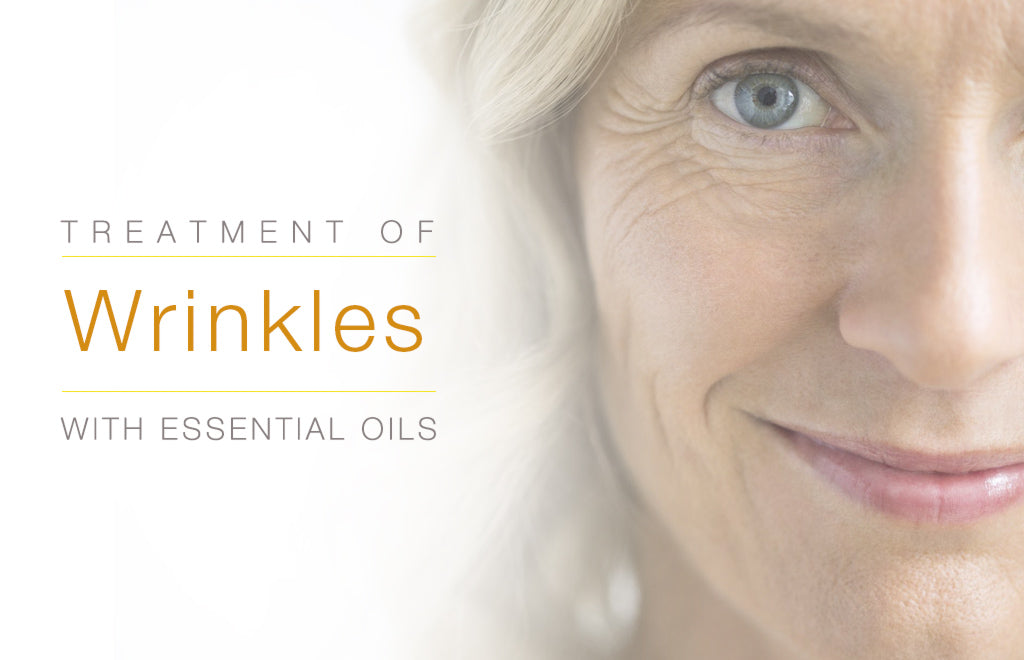Treatment of Wrinkles with Essential Oils