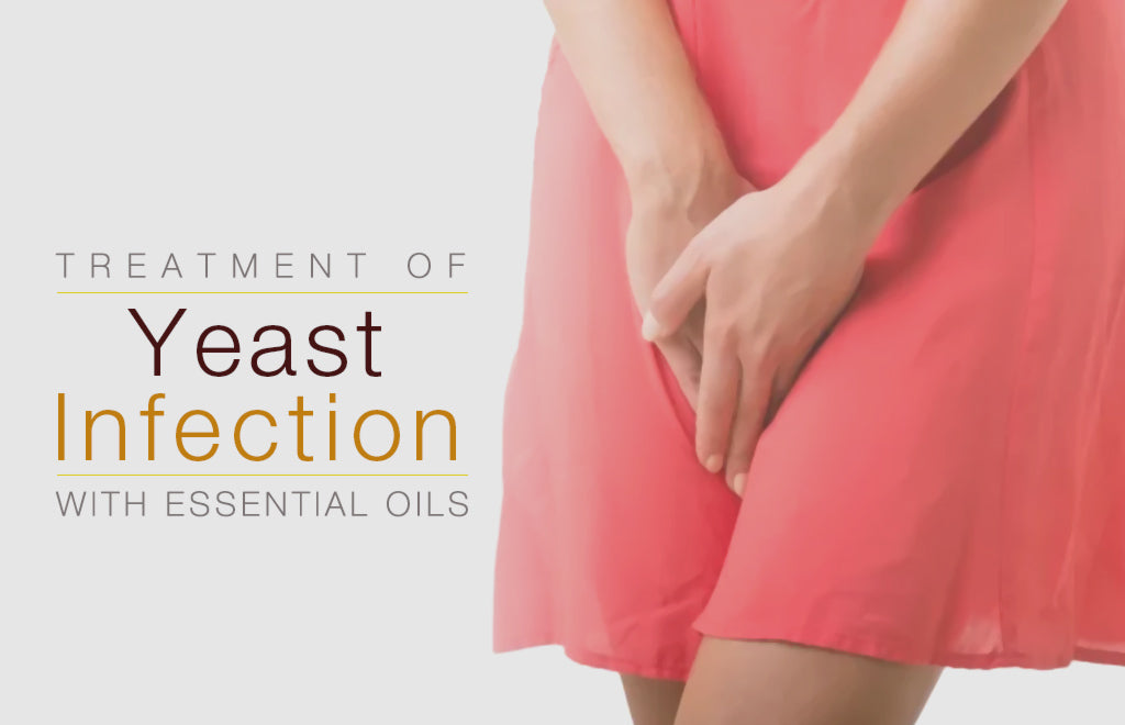 Treatment of Yeast Infection with Essential Oils