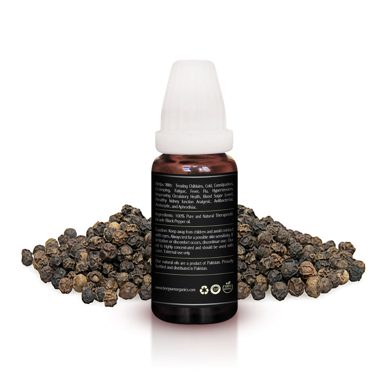 Blackpepper (Kali Mirch) Premium Essential Oil