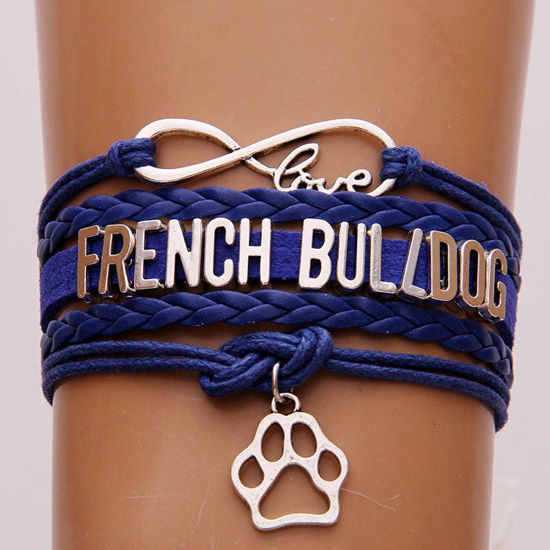 Bracelet Love French Bulldog