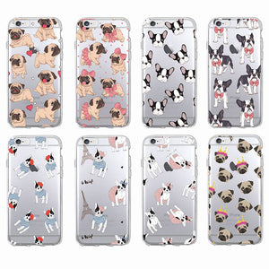 Coques pour smartphone Frenchie - Carlin