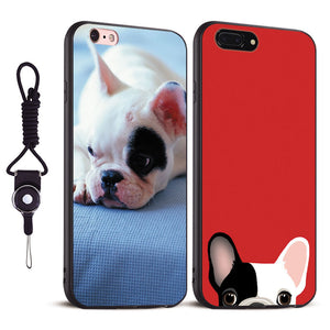 Coques protectrices avec photo de Frenchie