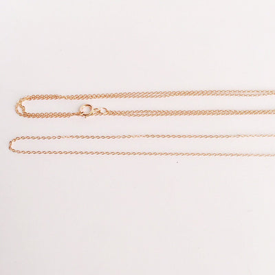 14k Rose Gold Filled Beaded Minimalist Choker Necklace Women - Jewelry - Necklaces Tigerlily and Me