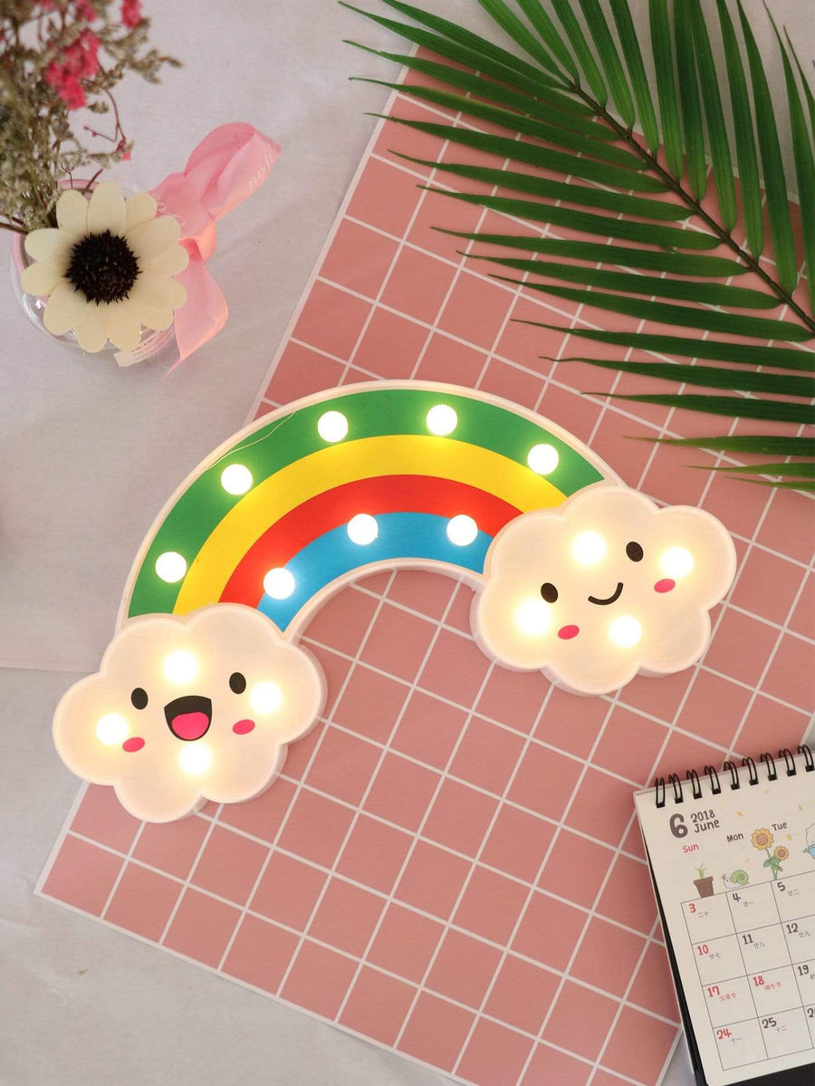 16pcs Bulbs Rainbow Shaped Table Lamp Tigerlily and Me