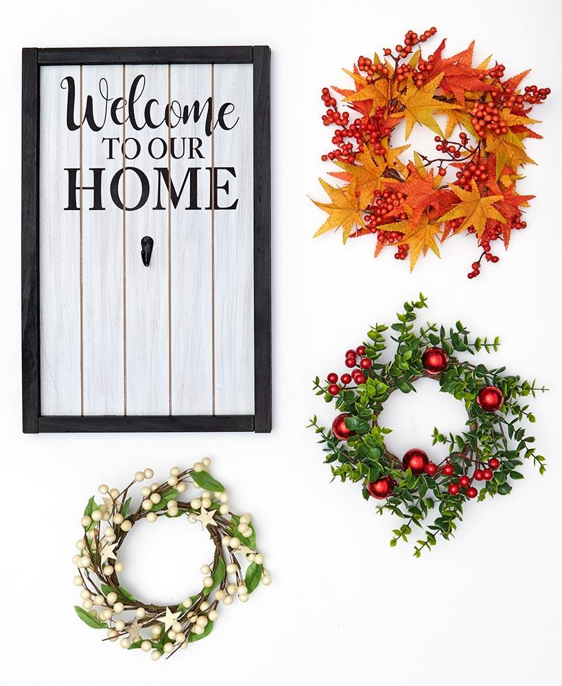 4-Pc. Interchangeable Welcome Home Sign Home - Decor Accents Tigerlily and Me