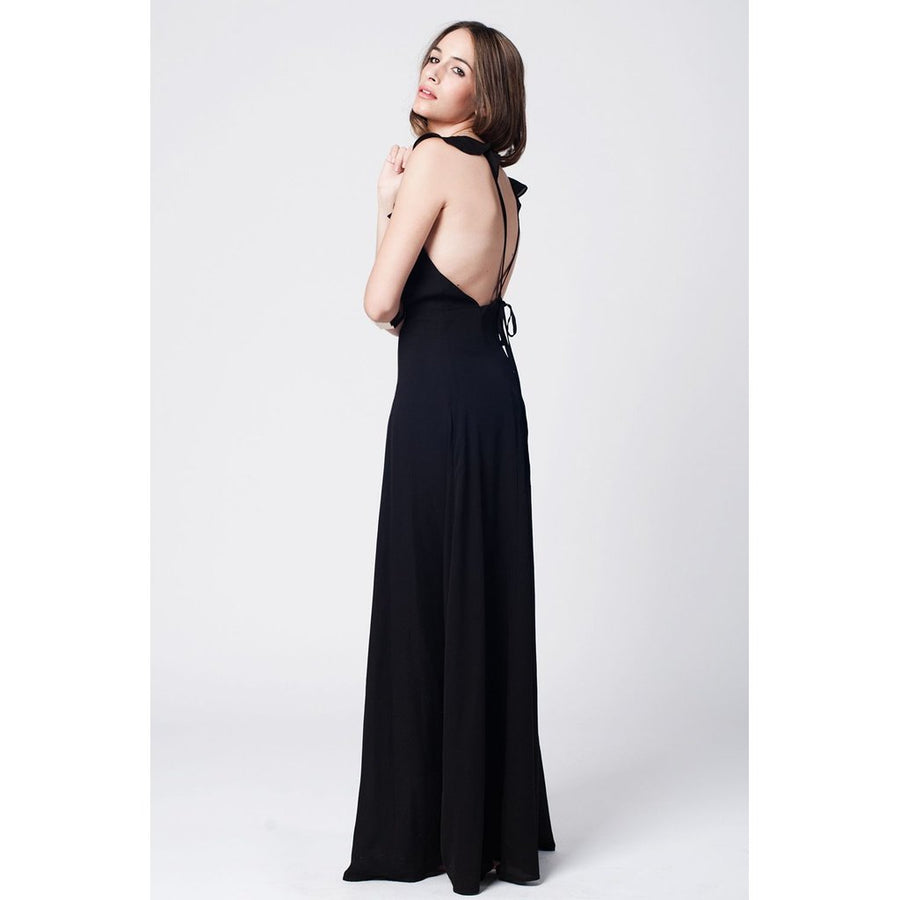 Angel Shoulder Maxi Dress