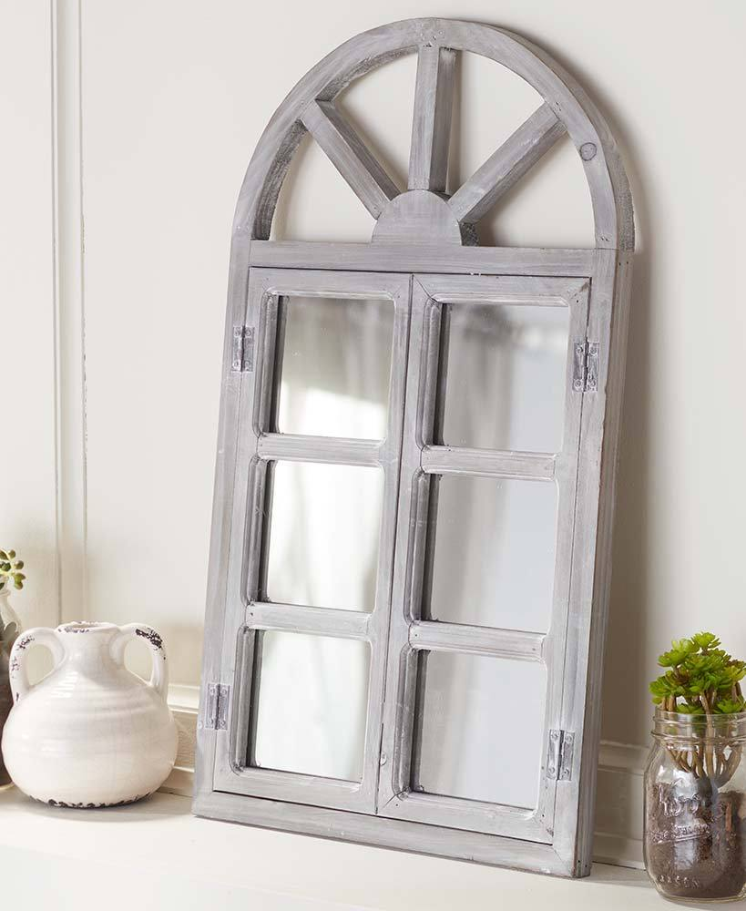 Arched Wood Mirrors Home - Decor Accents Tigerlily and Me