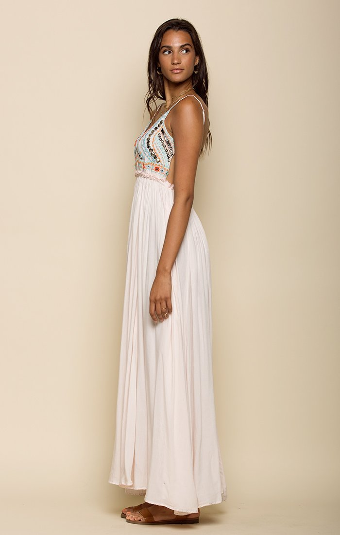 Baja Sunset Backless Maxi Dress Women - Apparel - Dresses - Casual Tigerlily and Me