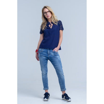 Basic Boyfriend Jeans Women - Apparel - Trousers & Jeans Tigerlily and Me