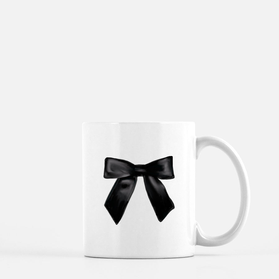 Bow Coffee Mug Home - Glasses & Mugs Tigerlily and Me