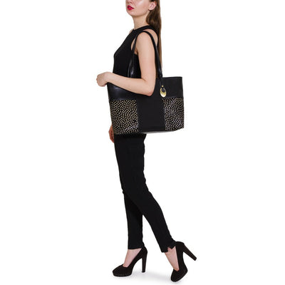Carry Me Stud Leather Bag Women - Bags Tigerlily and Me