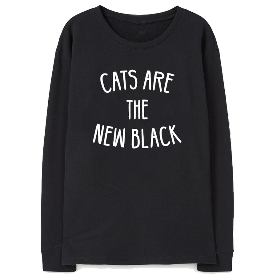 Cats Are The New Black Women - Apparel - Sweaters Cardigans and Tops Tigerlily and Me