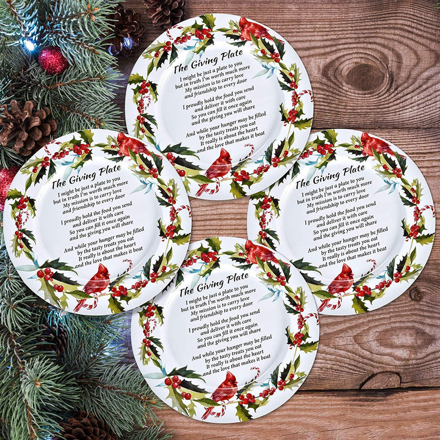 Christmas Giving Plate Home - Kitchenware Tigerlily and Me
