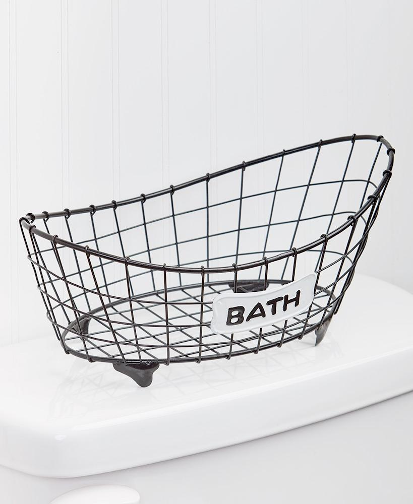 Country Bath Storage Basket Home - Storage Tigerlily and Me