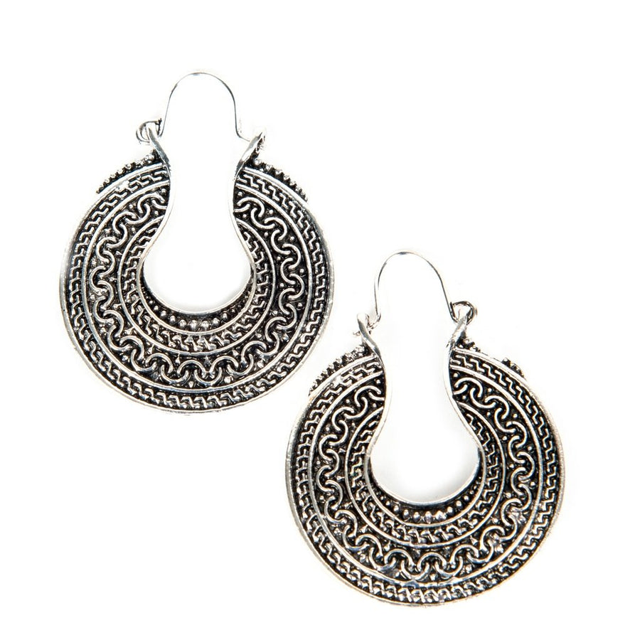 Dakota Tibetan Silver Earrings Women - Jewelry - Earrings Tigerlily and Me