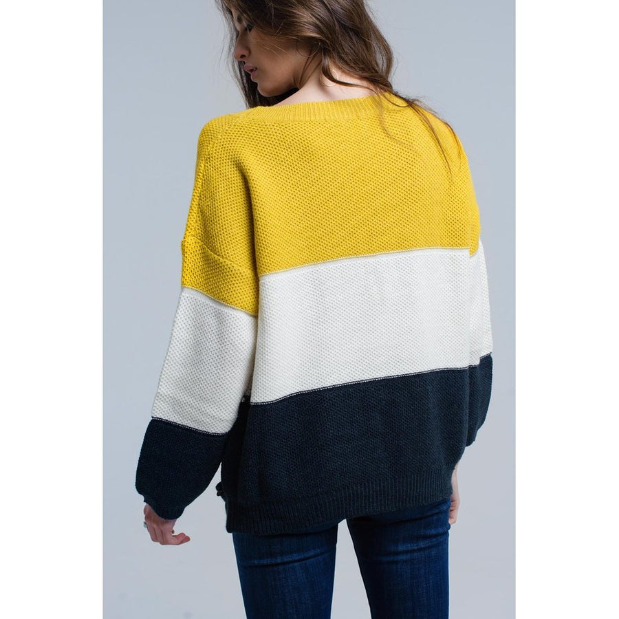 Divided Together Sweater
