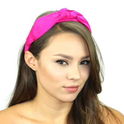 Dupioni Silk Top Knot Headband Women - Accessories - Hair Accessories Tigerlily and Me