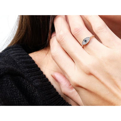 Evil Eye Protection Ring Women - Jewelry - Rings Tigerlily and Me