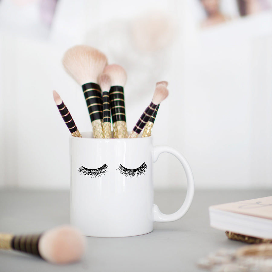 Eyelash Coffee Mug Home - Glasses & Mugs Tigerlily and Me