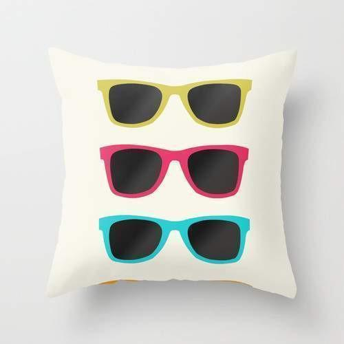 FAVORITE SUNGLASSES Pillow