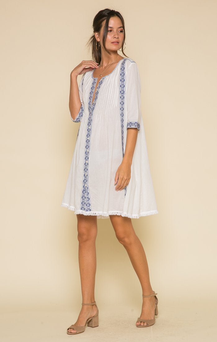 Fenia Button Down Dress Women - Apparel - Dresses - Casual Tigerlily and Me