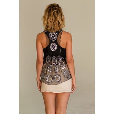Festival Chic Vest Woman - Apparel - Vests Tigerlily and Me
