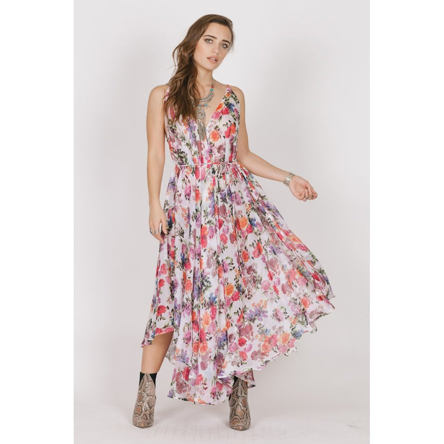 Floral Bloom Midi Dress Women - Apparel - Dresses - Casual Tigerlily and Me