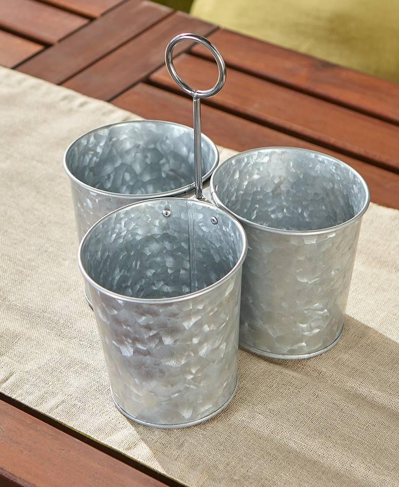 Galvanized Serving Collection Home - Storage Tigerlily and Me