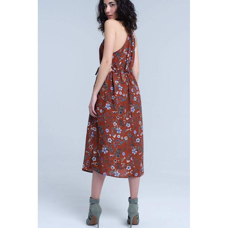 High Neck Boho Dress Women - Apparel - Dresses - Casual Tigerlily and Me
