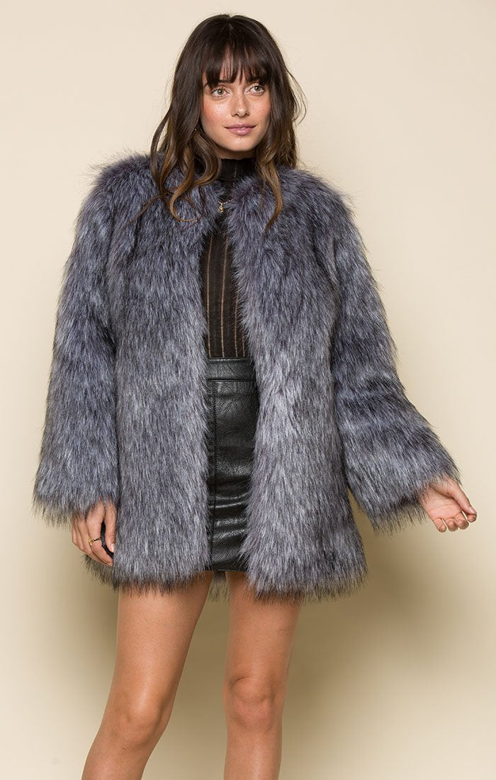KORA FAUX FUR JACKET Women - Apparel - Jackets & Coats Tigerlily and Me