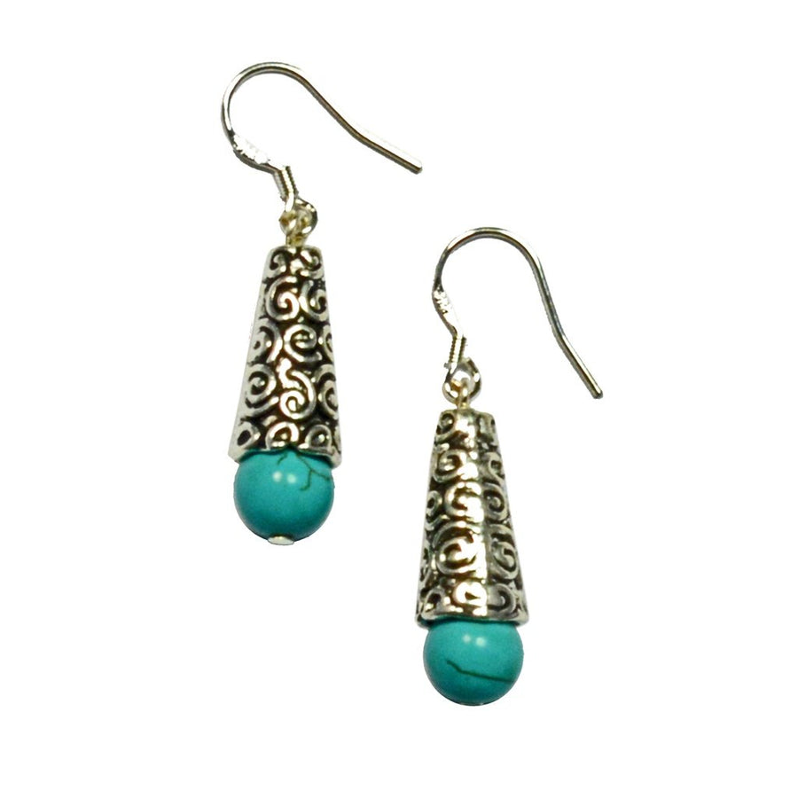 Lana Tibetan Gemstone Earrings Women - Jewelry - Earrings Tigerlily and Me