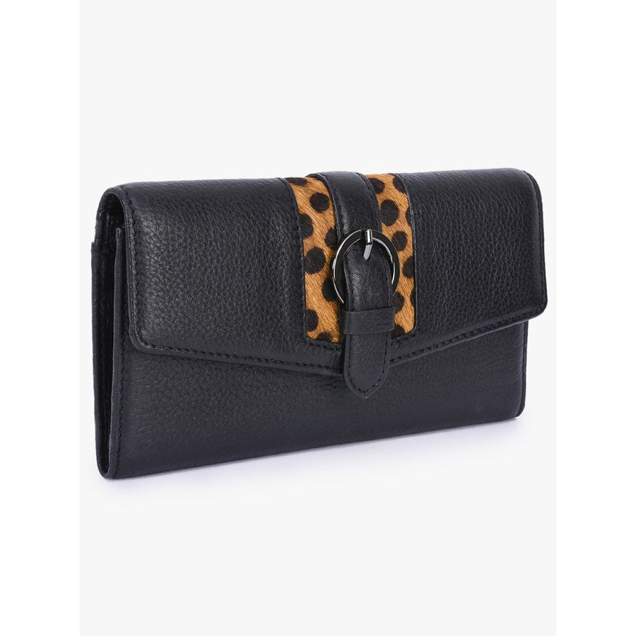 Leopard Leather Wallet Women - Accessories - Wallets & Coin Purses Tigerlily and Me