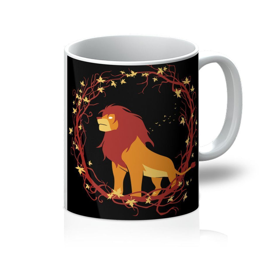 Lion circle Mug Home - Glasses & Mugs Tigerlily and Me