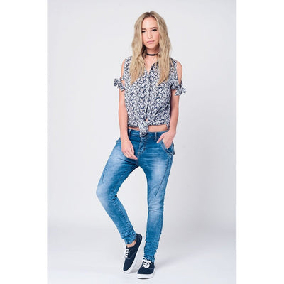 Low Boyfriend Jeans Women - Apparel - Trousers & Jeans Tigerlily and Me