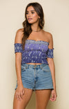 Luana Off Shoulder Crop Top Women - Apparel - Shirts - Blouses Tigerlily and Me