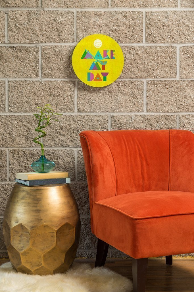 Make my Day Clock Home - Wall Art Tigerlily and Me