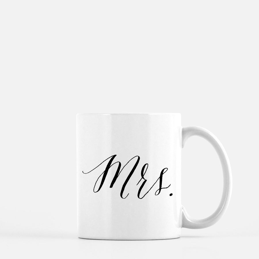 Mrs Coffee Mug Home - Glasses & Mugs Tigerlily and Me