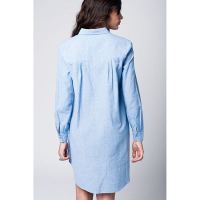 Oversized Boyfriend Shirt Dress Women - Apparel - Dresses - Casual Tigerlily and Me