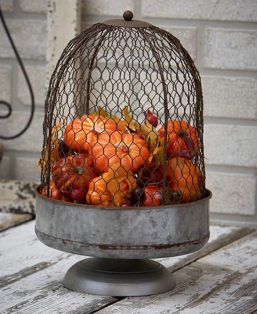 Oversized Chicken Wire Cloche Home - Decor Accents Tigerlily and Me