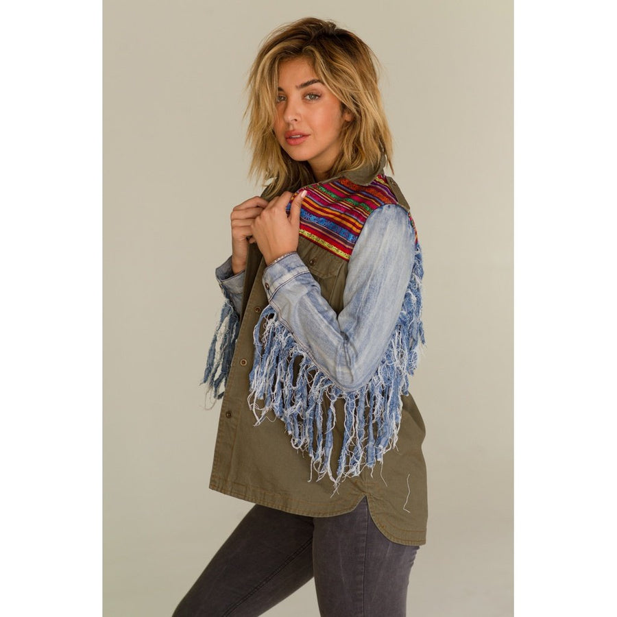 Peace And Love Jacket Women - Apparel - Jackets & Coats Tigerlily and Me