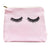 PINK EYELASHES MAKEUP BAG