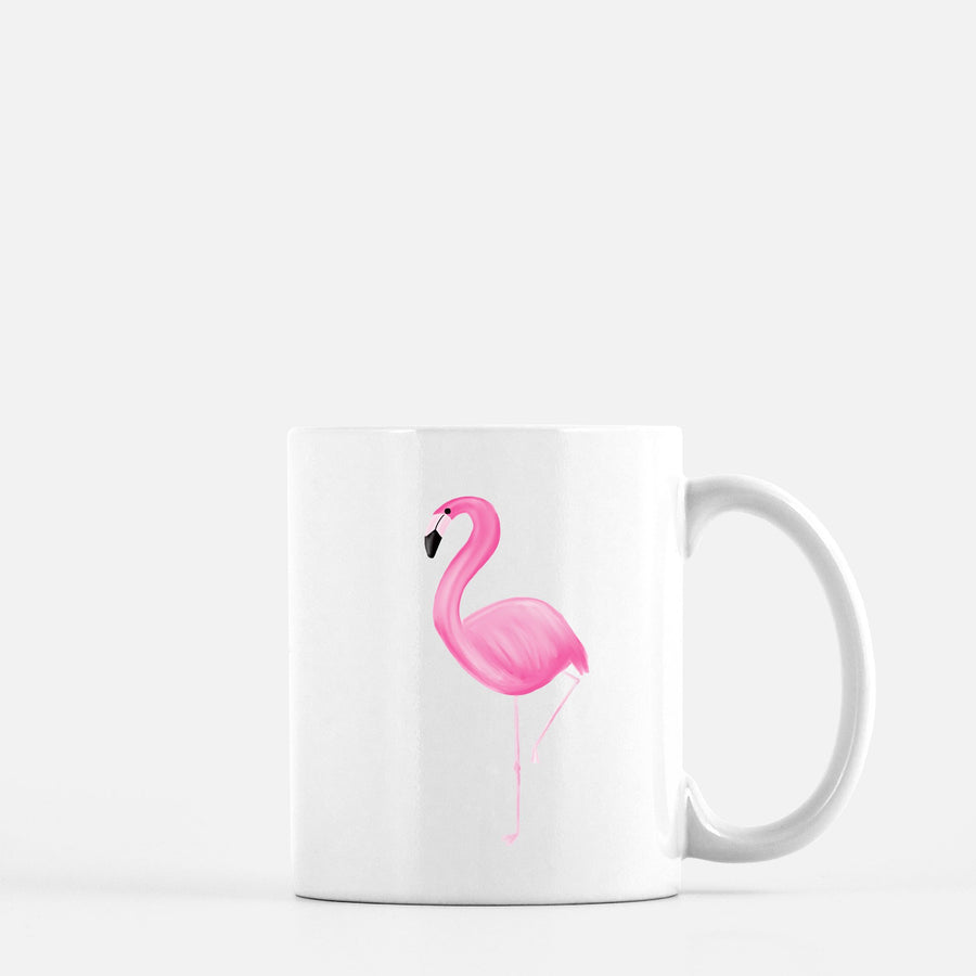 Pink Flamingo Coffee Mug Home - Glasses & Mugs Tigerlily and Me