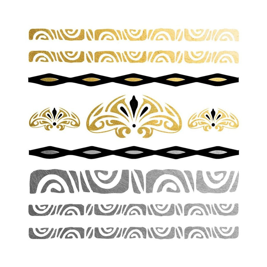 Polynesian Temp Tattoo Set