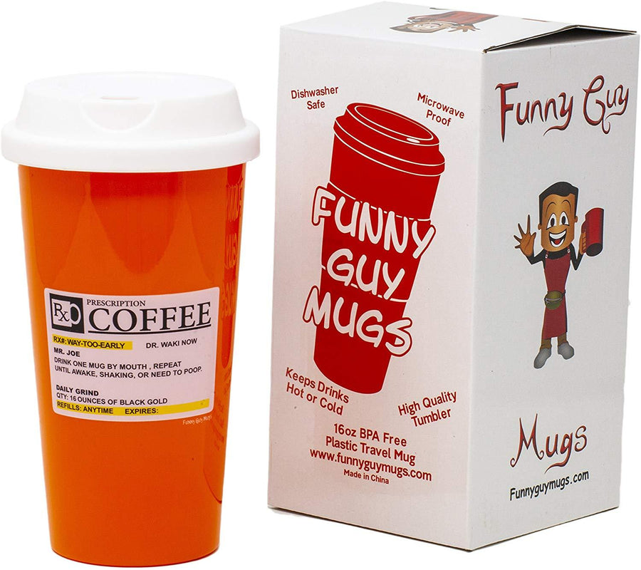 Prescription Travel Tumbler